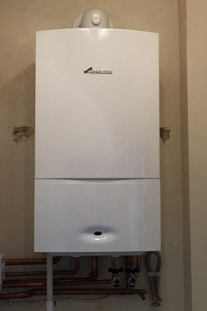 Gas boiler installation in Aldridge