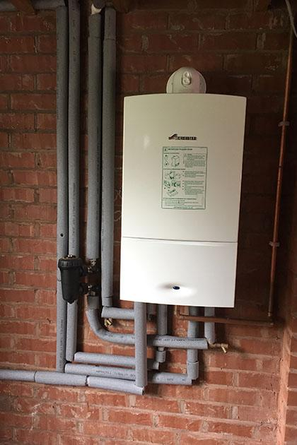 New gas boiler in Bloxwich